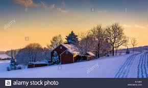 Winter View Of A Barn On A Snow Covered Farm Field At Sunset, In ... The Barn On Bridge Partyspace Why Apples Futuristic 5 Billion Campus Has A Random Centuryold Barn The Farm I Grew Up In Fingerlakes Region Of New Crane Estate Best 25 Converted Ideas Pinterest Cabin Barns And Snow Covered Road Red Rural Area York Winter View Snow Field At Sunset Rocky Fork Creek Desnation Steakhouse Gahanna Oh Birch Trees Ptakan Round Snowy Winters Day