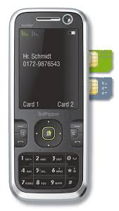 Dual SIM Handy