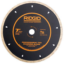 Husky Wet Tile Saw Blade by Upc 850650001083 Tile Saws Cutters U0026 Accessories Ridgid Saw