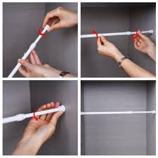 Spring Loaded Curtain Rod by Online Get Cheap Telescoping Curtain Rods Aliexpress Com