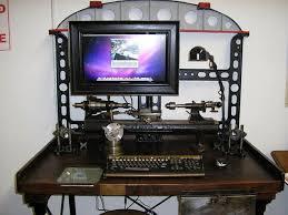 bureau steunk 상의 computer office furniture and setups에 관한