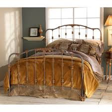 Wrought Iron Cal King Headboard by Merrick Iron Bed By Wesley Allen Humble Abode