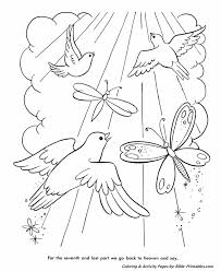 The Lords Prayer Coloring Page 20