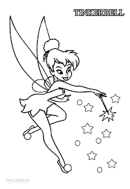 Disney Fairies Tinkerbell Coloring Pages