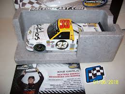 DIE CAST RACING COLLECTABLES - Super Trucks Preorder 2017 Chase Briscoe 29 Cooper Standard Craftsman Truck Kevin Harvick Porter Cable 98 Truck Stunod Racing 2002 Dodge Ram Nascar Series 140139 Overtons 225 Chicagoland Speedway Signed 2006macts Z Motsport Memorabilia 2008 Design By Graphicwolf On Deviantart Chevrolet Nascar Racer 1995 Hendckbring A Trailer Camping World Primer Daytona Intertional Mark Martin 99 1997 Ford F150 Exide Batteries Craftsman Truck Series Ernie Irvan 28 Napa United Chris Fontaine Autographed 8 12 X Toyota Tundra 2004 Picture 7 Of 18