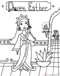 Epic Queen Esther Coloring Pages 45 For Your Kids Online With