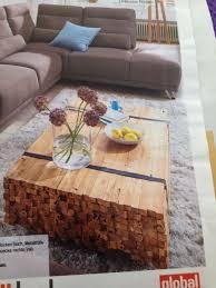 tolle tischidee wohnzimmer holztisch coffee table