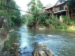 104 River Side House Side And Nam Lang Picture Of Little Eden Guesthouse Soppong Tripadvisor