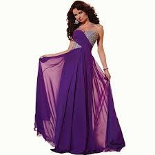 online get cheap elegant purple gowns aliexpress com alibaba group
