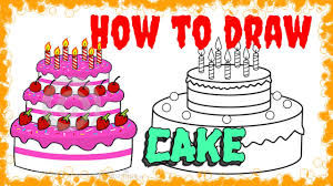 How to draw Cake✎✎ Realistic Art Pencil Drawing
