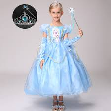 online get cheap light blue party dress children aliexpress com