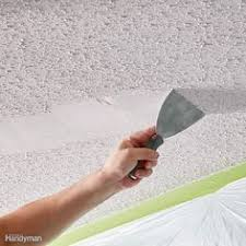 patch a water stained ceiling or textured ceiling stains the