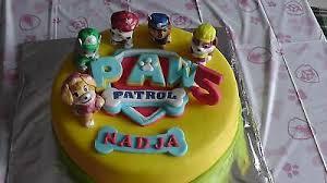 paw patrol torte aufleger kindergeburtstag fondant