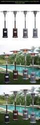 Lynx Natural Gas Patio Heater by Garden Outdoor Patio Heater Propane Standing Lp Gas Steel Deck
