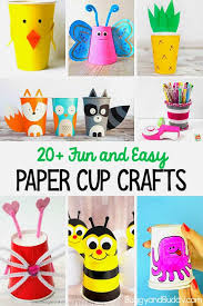 20 Paper Cup Crafts For Kids