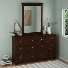 altra hanover creek 6 drawer dresser with mirror reviews wayfair