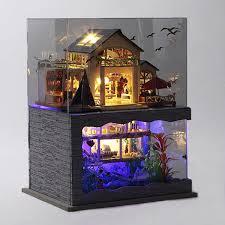 Amazoncom Flever Dollhouse Miniature DIY House Kit Creative Room