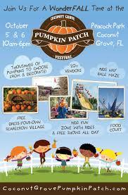 Ohio Pumpkin Festival by Coconut Grove Pumpkin Festival Family Four Pack Give Away