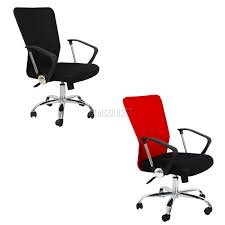 Ebay Computer Desk Chairs by Foxhunter Computer Executive Office Desk Chair Mesh Fabric Swivel