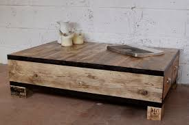 Old And Vintage DIY Square Low Wood Coffe Table With Drawers Using Reclaimed For Small Rustic Living Room Spaces Ideas