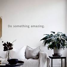 100 Eco Home Studio US 20 3382 Do Something Amazing Free Shipping And Friendly Wall Stickers For Office And Decor Desk And Sofa Backgroundin Wall
