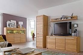 expendio wohnzimmer pisa 55 eiche bianco massiv 4 teilig