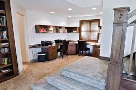 The Above Image Is A Basement Office Space From New Custom Home Designed And Built By Herbert Stork Homes