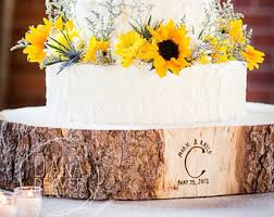 12 STUMP Rustic Wood Tree Slice Wedding Cake Base Wooden Slab Stand Perfect