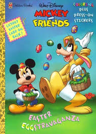 Easter Eggstravaganza Mickey Friends By Golden Books