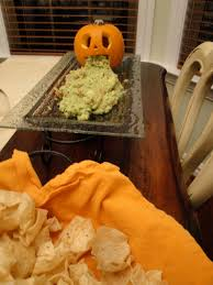 Picture Of Pumpkin Throwing Up Guacamole by Newly Domesticated Hallowino 2012