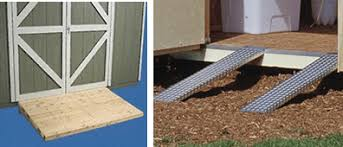 How To Build A Wooden Shed Ramp by Accessories For A Beautiful U0026 Fully Functional Shed