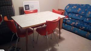 100 Red Formica Table And Chairs Table With Chairs Trade Me
