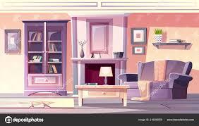 wohnzimmer interieur vector provence vintage stil 219385550