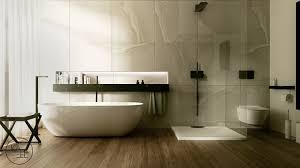 begehbare dusche mit glasabtrennung funktional voll im trend