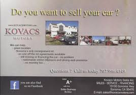 100 How To Sell A Truck Trade In Your Car Consignment In Sonoma Kovacs Motors