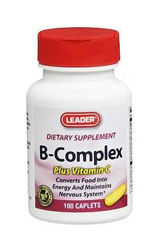 Leader B-Complex With Vitamin C - 100 ct