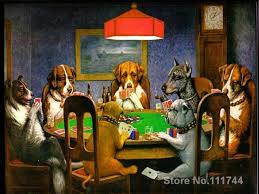 Famous Animal Paintings A Friend In Need Dogs Playing Poker Cassius Marcellus Coolidge Art Work Reproduction