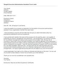 Cover Letter Admin Here Is Examples Of Letters For Administrative Positions With Resume To Apply