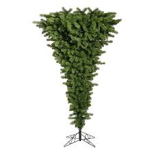 9 Ft Pre Lit Christmas Trees by Shop Northlight 9 Ft Pre Lit Upside Down Artificial Christmas Tree