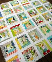 Red Pepper Quilts A Finished Scrappy Log Cabin Quilt