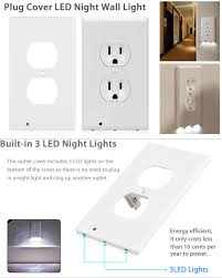 cover led wall outlet hallway bedroom