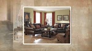 Claremore Antique Sofa And Loveseat by Ashley Ledelle Durablend Antique Living Room Set Youtube