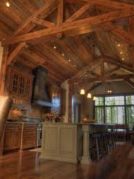 95 best rustic mountain log kitchens and dining rooms images on