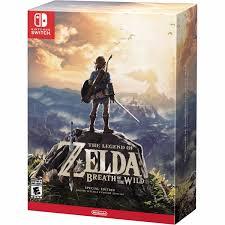 The Legend Of Zelda Breath Of The Wild Nintendo Switch 3960984