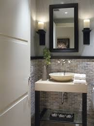 Bathroom Powder Room Design Decor Small Modern Half Bathroom