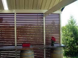 outdoor patio screen ideas