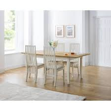 essgruppe spokane mit ausziehbarem tisch und 4 stühlen