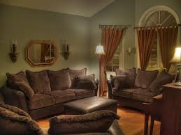 enchanting living room ideas with brown sectional decorating