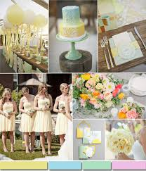 Soft Lemon Spring Summer Wedding Color Ides 2015