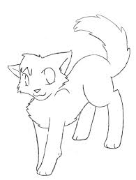 Nice Ideas Warrior Cat Coloring Pages Download